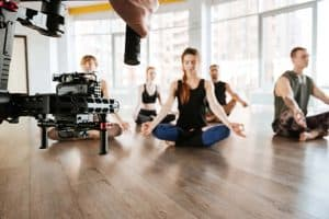 Filming Yoga with steadycam