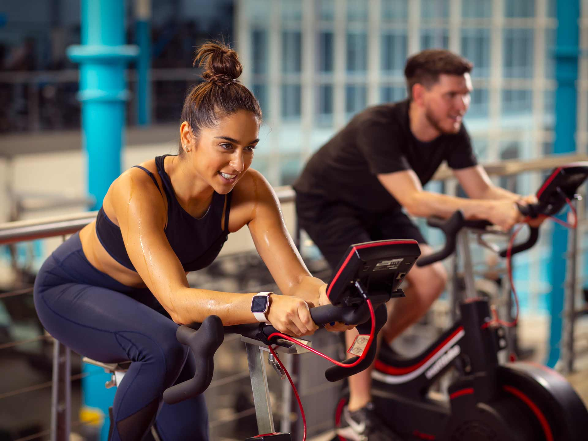 Total Fitness Campaign Content Creation