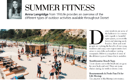 Summer fitness in the great outdoors